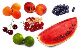 Lots of colorful fruit Royalty Free Stock Photography