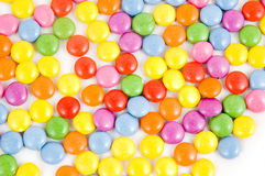Lots of colorful smarties Royalty Free Stock Image