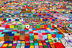 Lots of colourful blocks Royalty Free Stock Images
