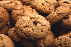 Lots of cookies and biscuits background Royalty Free Stock Image