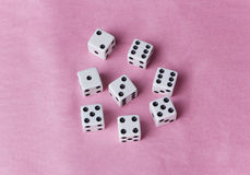 Lots of Dice Stock Image