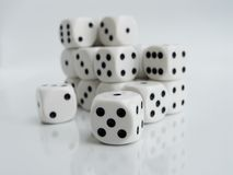 Lots of Dice Royalty Free Stock Photography