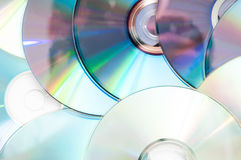 Lots of disks Royalty Free Stock Photography