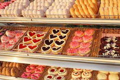 Lots of donuts Stock Image