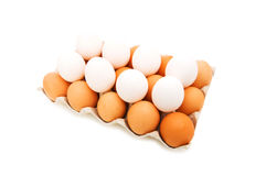 Lots of eggs Royalty Free Stock Photography