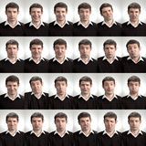 Lots of Faces Royalty Free Stock Photos