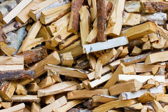 Lots of firewood Stock Photos
