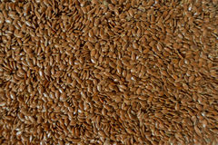 Lots of flaxseed stock photo