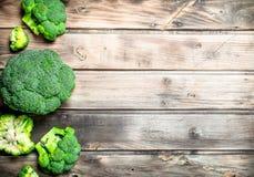 Lots of fresh broccoli stock photo