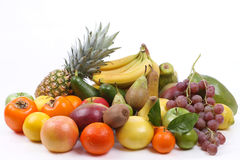 Lots of fresh fruit stock photography