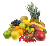 Lots of fresh fruit Royalty Free Stock Photos