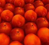 Lots of fresh peaches are beautiful background Stock Photo