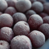 Lots of of frozen cherries Royalty Free Stock Photo