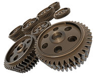 Lots of Gears Stock Images