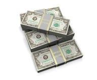 Lots Geld Stockfotos