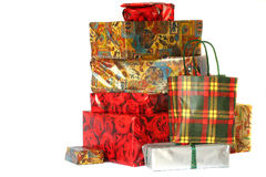 Lots of gifts Royalty Free Stock Images