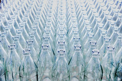 Lots of glass bottles Royalty Free Stock Image