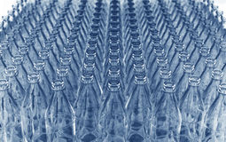 Lots of glass bottles Stock Image