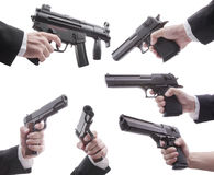 Lots of guns Royalty Free Stock Photo