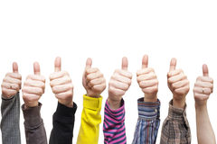 Lots of hands Royalty Free Stock Images