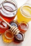 Lots of honey Stock Photo