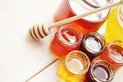 Lots of honey Stock Images