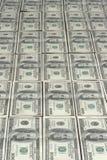 Lots of hundred dollars. Lots of hundred dollar bank notes Royalty Free Stock Photos