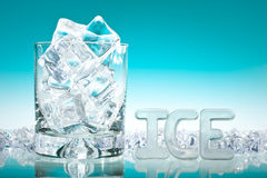 Lots of ice Royalty Free Stock Photography