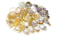 Lots of jewellery Royalty Free Stock Photography