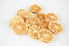 Lots of lemon slices. In studio Stock Photos