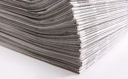 Lots of newspapers Stock Images