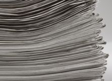 Lots of newspapers Royalty Free Stock Image