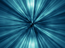 Lots Of Bright Blue Rays Royalty Free Stock Images