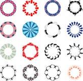 Lots Of Circular Designs Royalty Free Stock Images