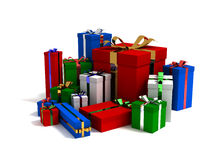 Lots Of Different Gifts Stock Image