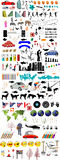 Lots Of Illustration Elements Including Cars People Animals Trees Shapes And Lots Lots More Stock Photo