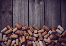 Lots Of Wine Corks Royalty Free Stock Image
