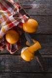 Lots of oranges Stock Photography