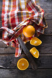 Lots of oranges Stock Images