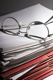 Lots of paperwork Stock Photography