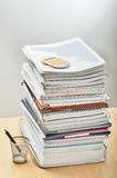 Lots of paperwork ahead Stock Photography