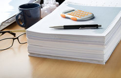 Lots of paperwork ahead Stock Photos