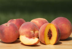 Lots of Peaches Royalty Free Stock Photography
