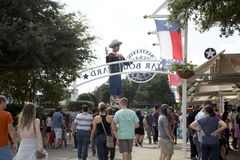 Lots of people visit State Fair Texas USA Stock Image