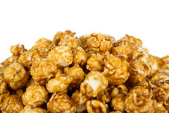 Lots of popcorn balls with sugar Stock Images