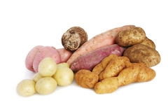 Lots of Potatoes Royalty Free Stock Photos