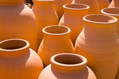 Lots of pots Stock Images