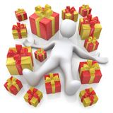 Lots Of Presents Stock Images