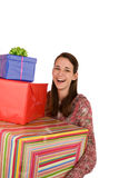 Lots of presents! Royalty Free Stock Photos