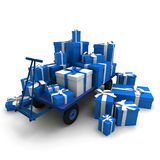 Lots of presents Stock Photography